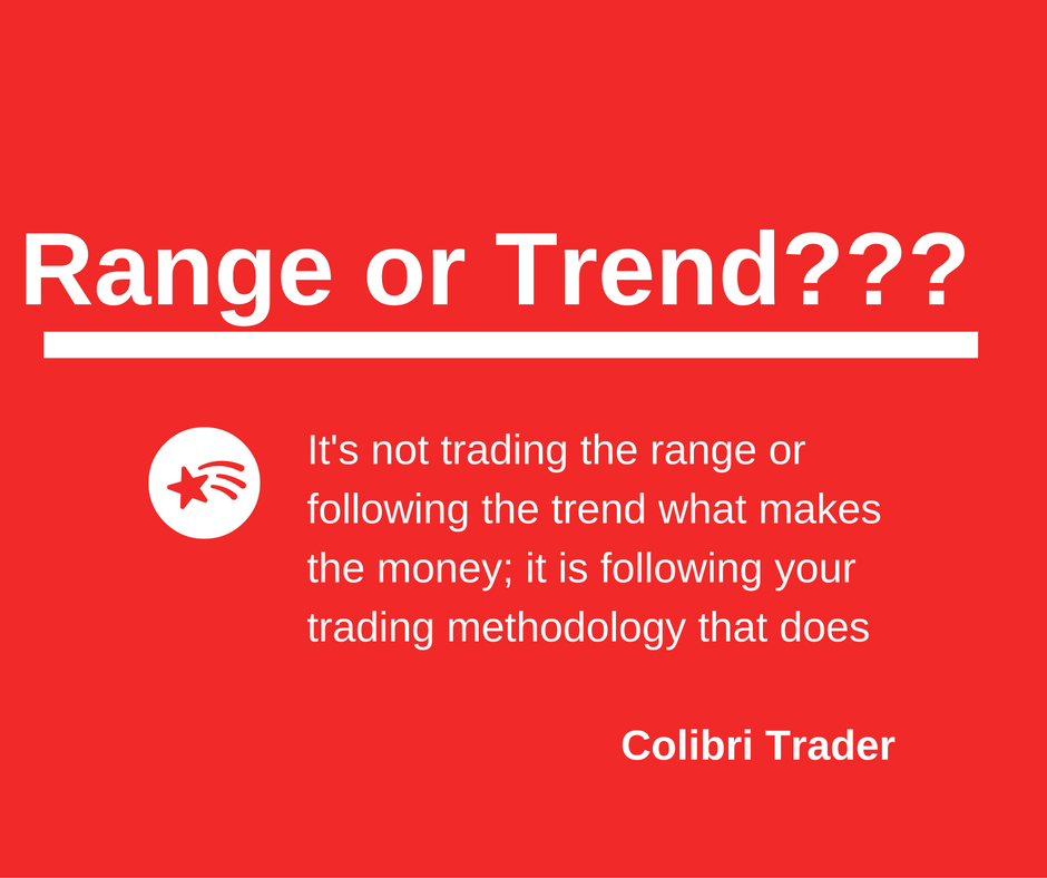 following the trend or range trading