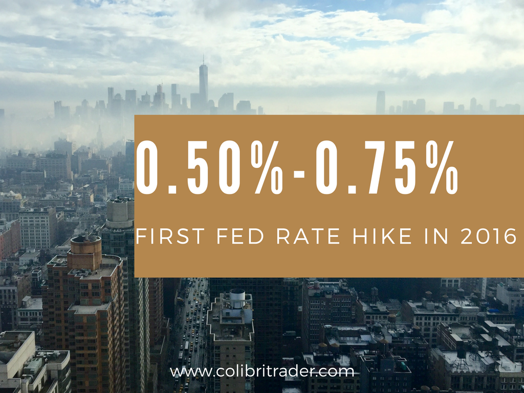 FED Raises Rates for the First Time This Year